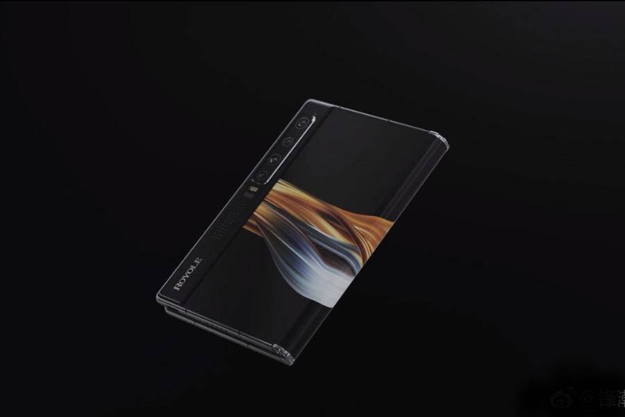 柔宇科技,刘自鸿,柔宇科技,柔性屏幕,OLED面板